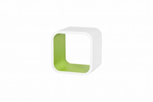 Softcube white green 255x255x200mm