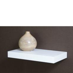 White floating shelf kit
