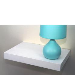 Deep white floating shelf