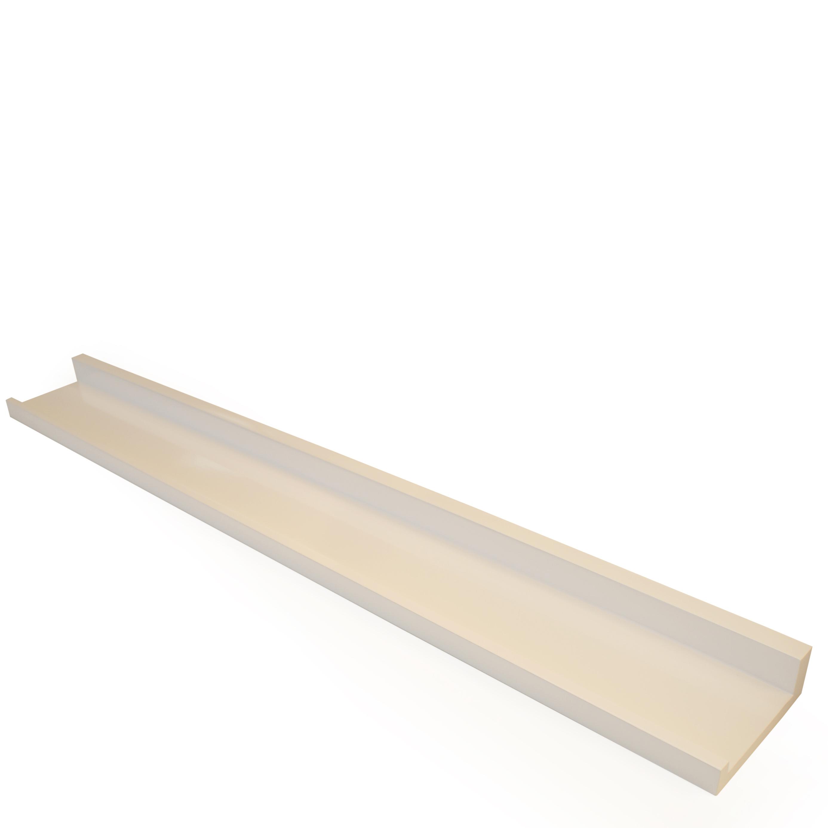 belle ledge shelf 800x100mm mastershelf. Black Bedroom Furniture Sets. Home Design Ideas