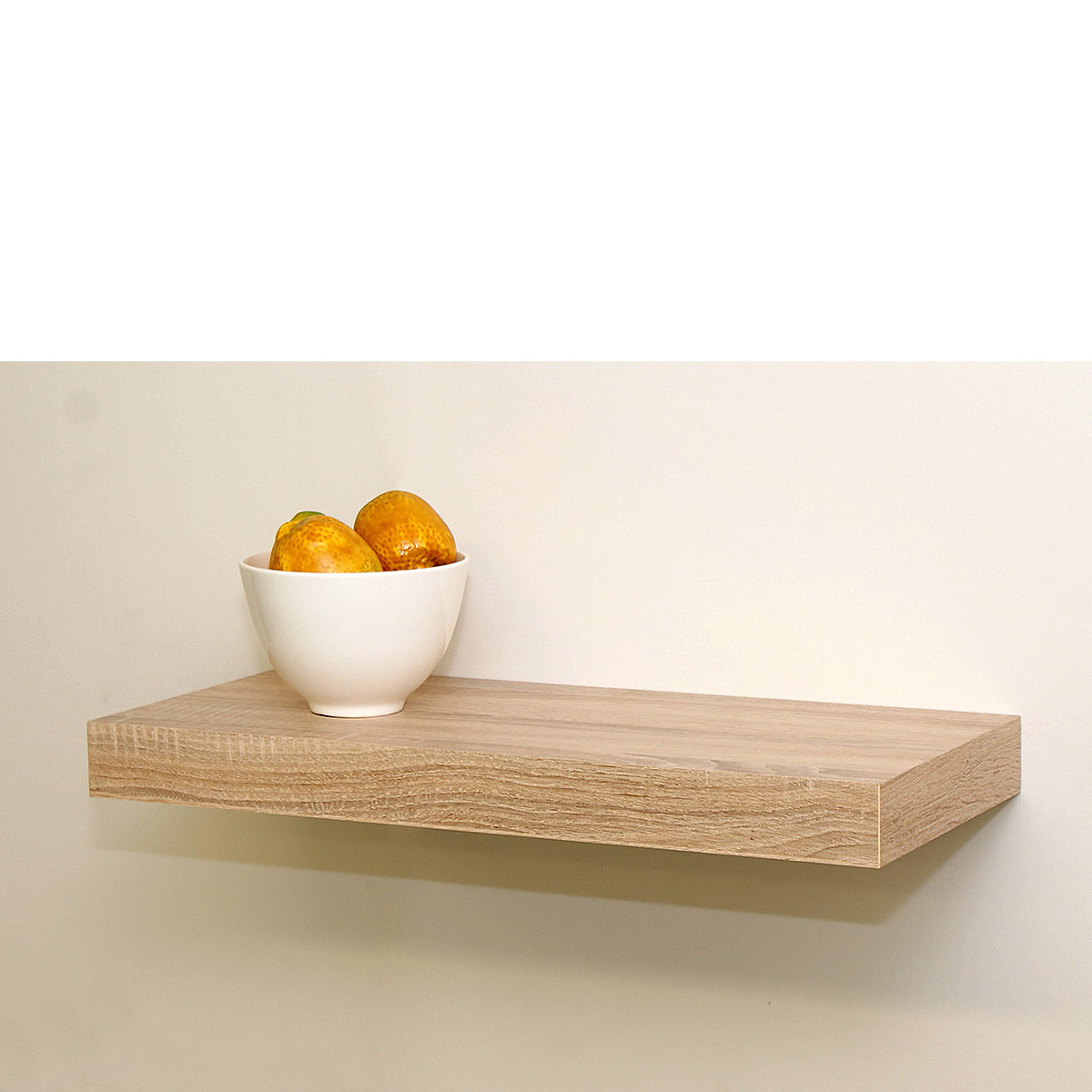 Oak Floating Shelf Kit 570x250x50mm - Mastershelf