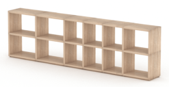Oak modular shelf
