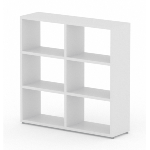 2x3 white cube shelf