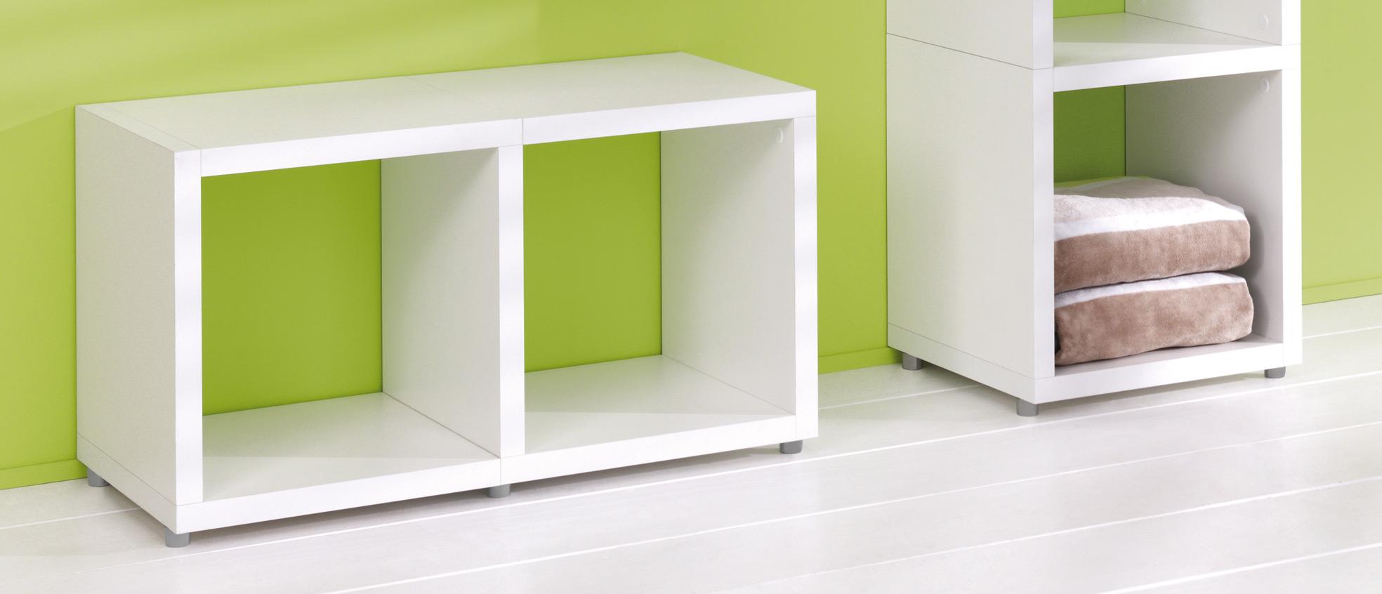 White Single Cube Kit 384l X 404h X 328d Mastershelf