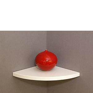 corner floating shelf 300x300x22mm mastershelf. Black Bedroom Furniture Sets. Home Design Ideas