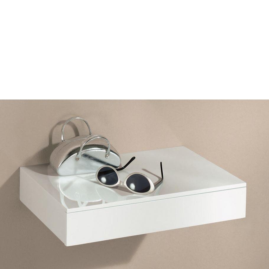 Floating Shelf With Drawer 450x250x80mm - Mastershelf