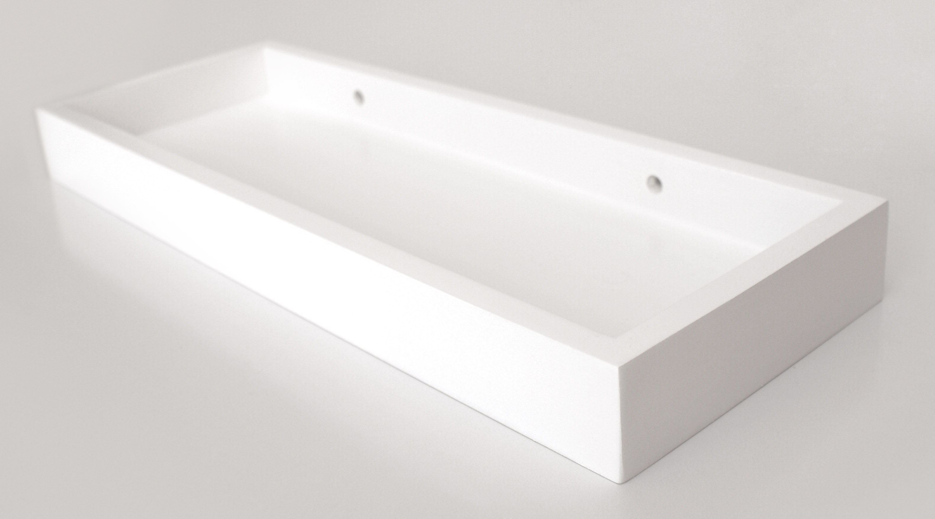 White Floating Multi Shelf 400x150x40mm - Mastershelf