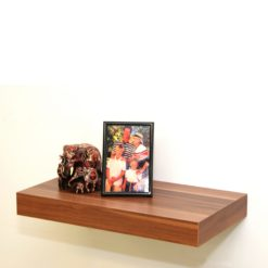 Walnut floating shelf kit