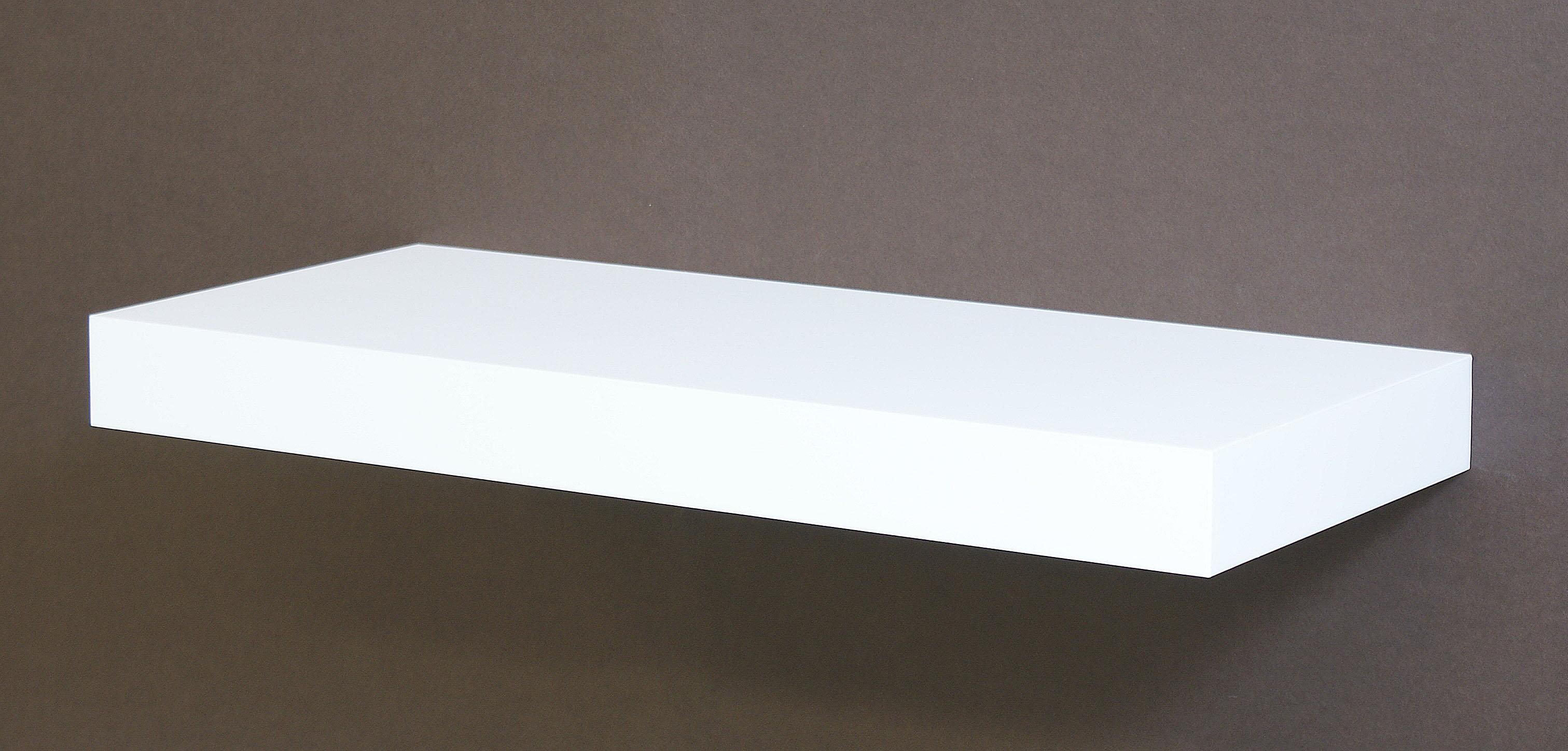White Floating Shelf Kit 570x300x50mm Mastershelf