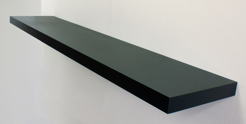 Cool High Gloss Black Floating Shelf 1500X250X50Mm Interior Design Ideas Gentotryabchikinfo