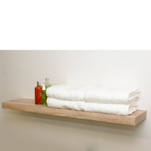 Oak floating shelf kit