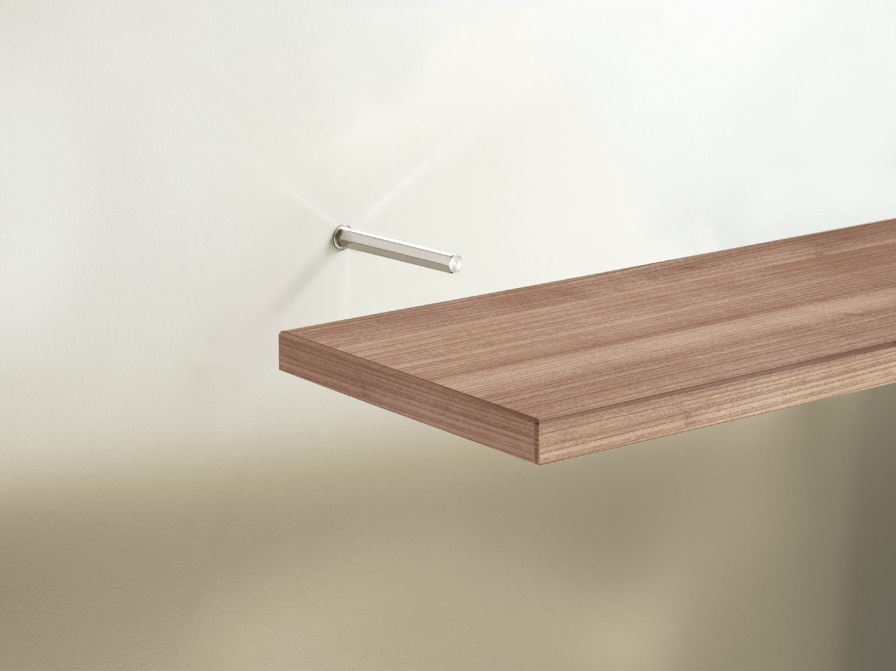 Floating Shelf Brackets 12 100mm Pair Mastershelf