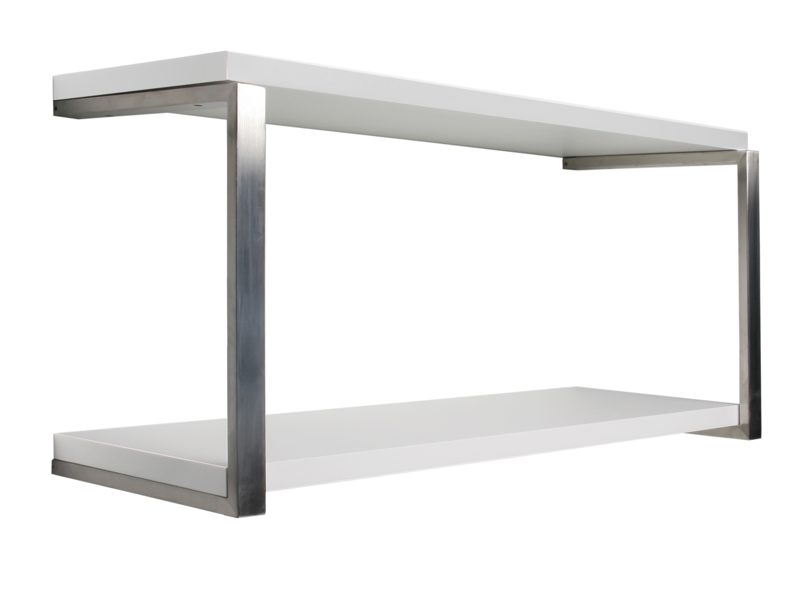 White Sumo Shelf Double Kit 800x300x25mm Mastershelf