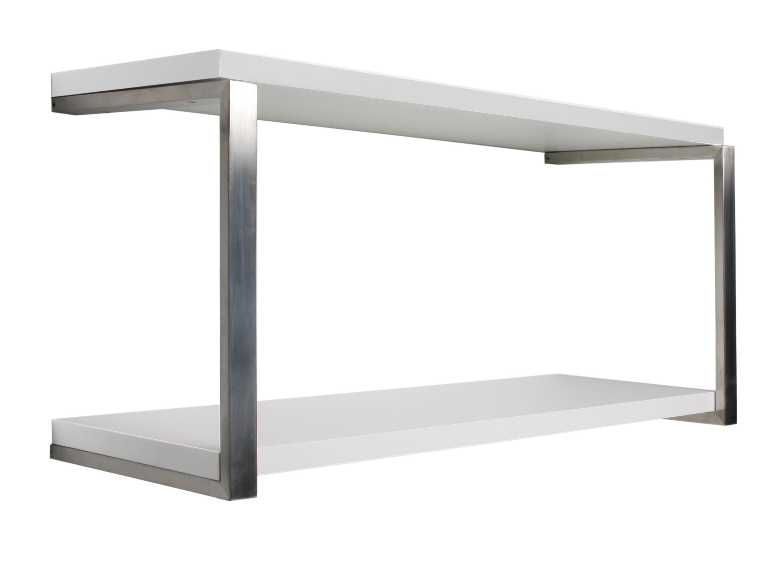 White Sumo Shelf Double Kit 800x300x25mm Mastershelf