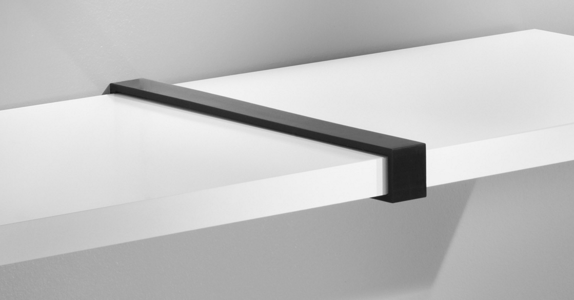 Black Belt Bracket Each Mastershelf