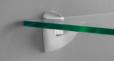 scoop bracket with glass shelf