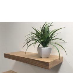Rustic ash floating shelf kit