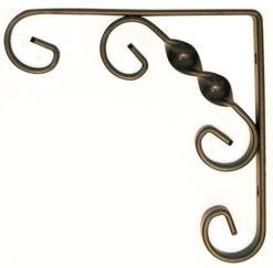 Ornamental scroll bracket