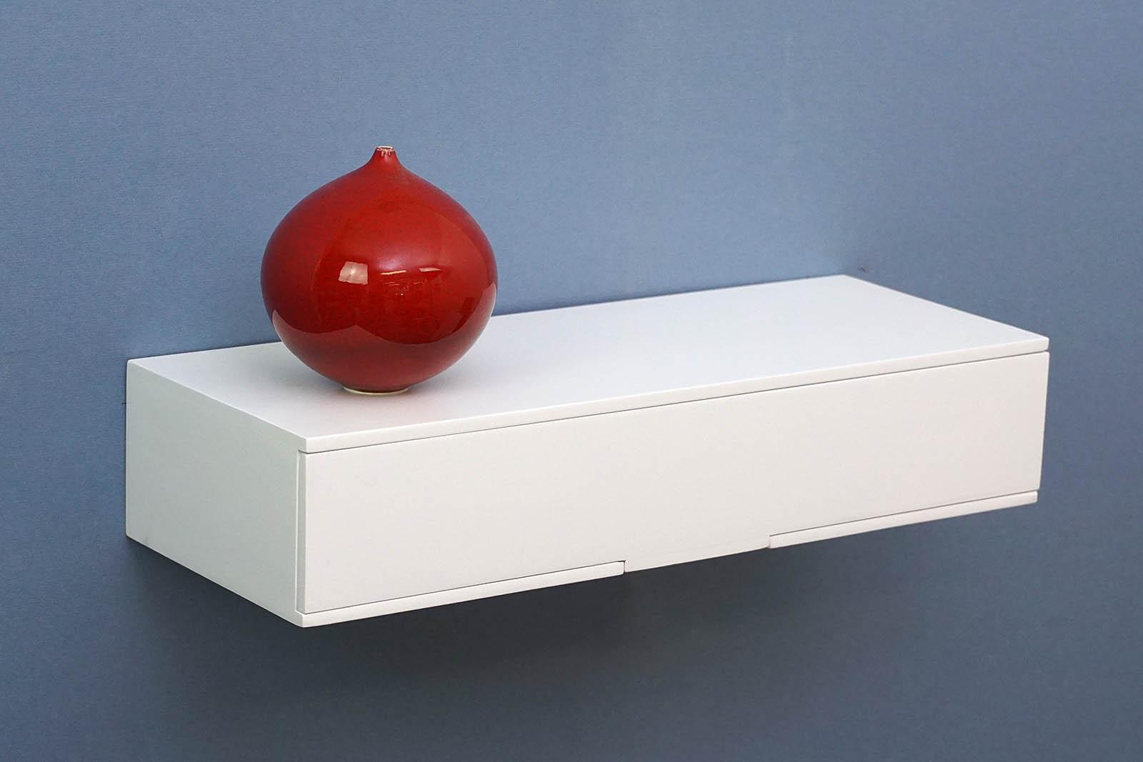 mini shelf with drawer 400x150x80mm mastershelf. Black Bedroom Furniture Sets. Home Design Ideas
