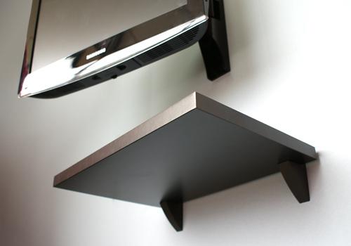 Sumo Black shelf