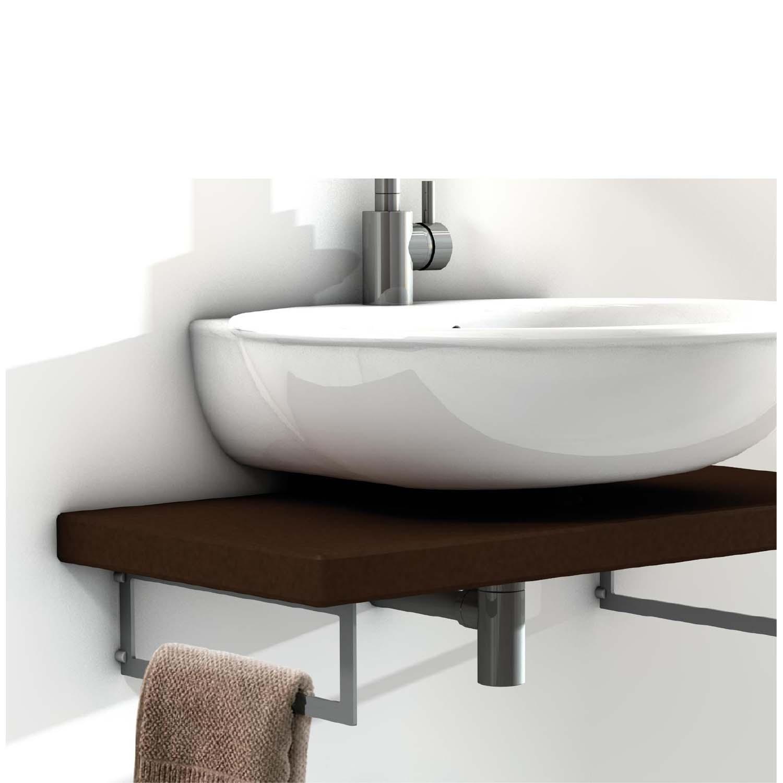 Floating Sink Bracket 440mm Pair Mastershelf