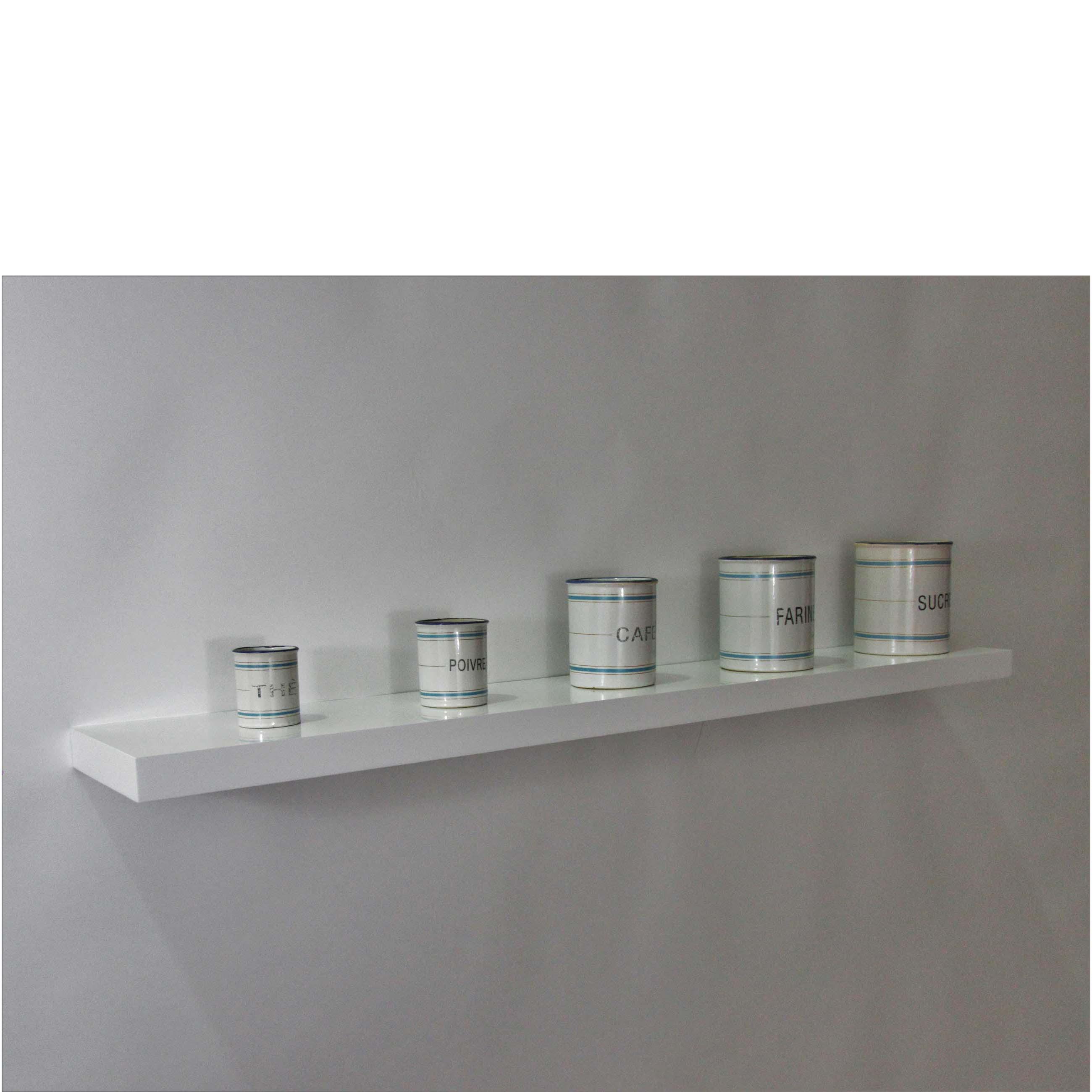 gloss white floating shelf 1200x200x38mm mastershelf. Black Bedroom Furniture Sets. Home Design Ideas