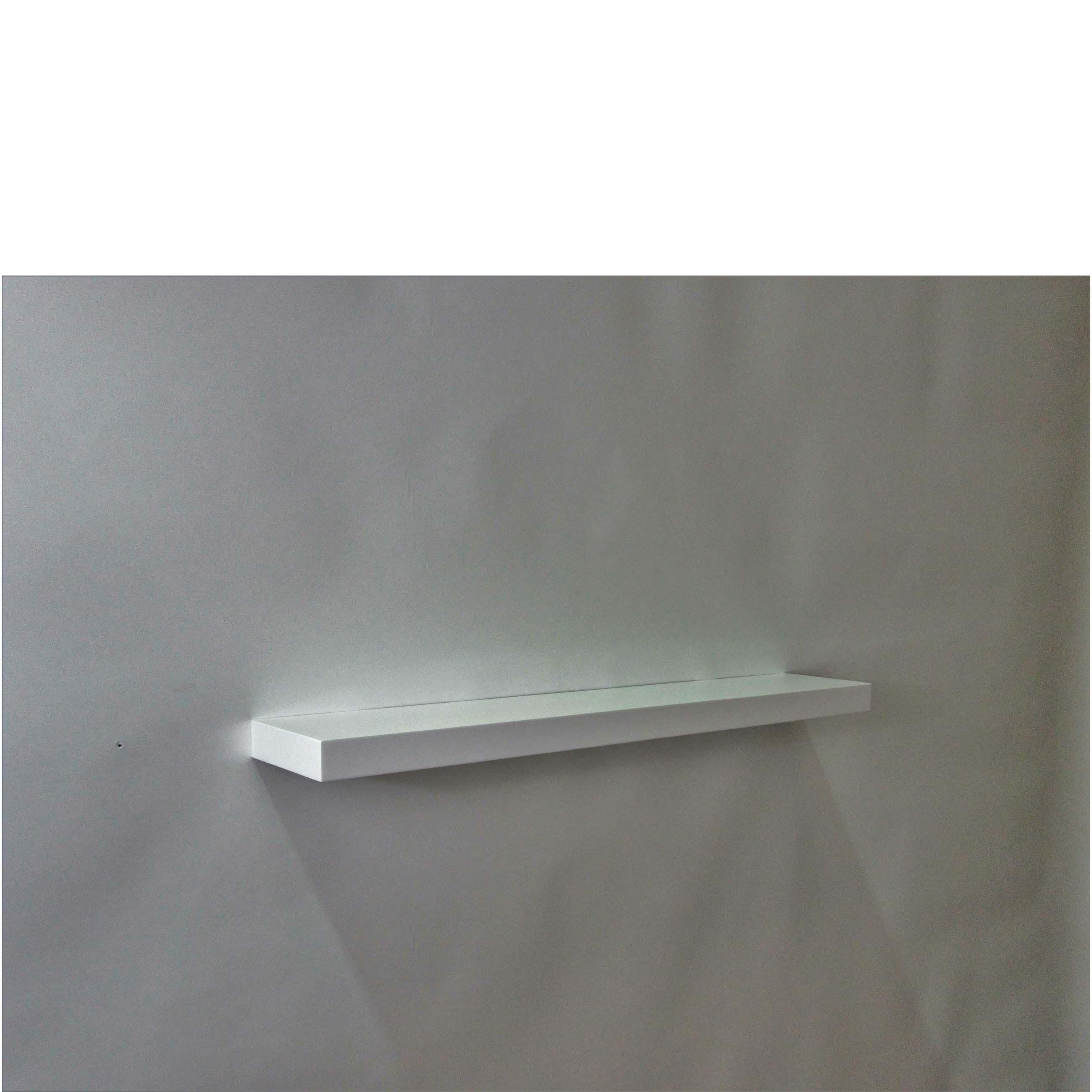 gloss white floating shelf 800x150x38mm mastershelf. Black Bedroom Furniture Sets. Home Design Ideas