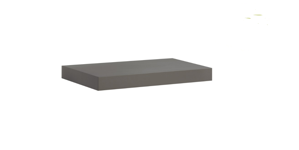Dark Grey Floating Shelf Kit 570x250x50mm - Mastershelf