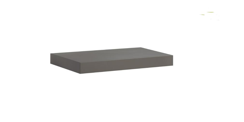 Dark Grey Floating Shelf Kit 570x250x50mm Mastershelf
