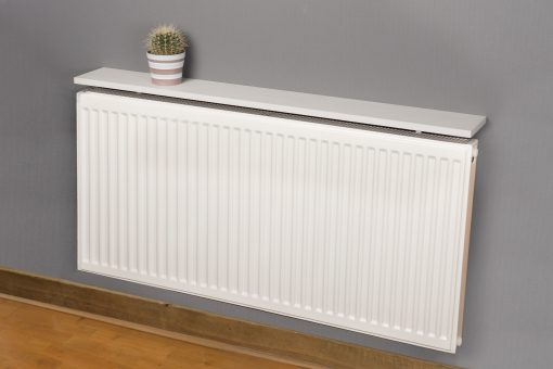 Radiator shelf