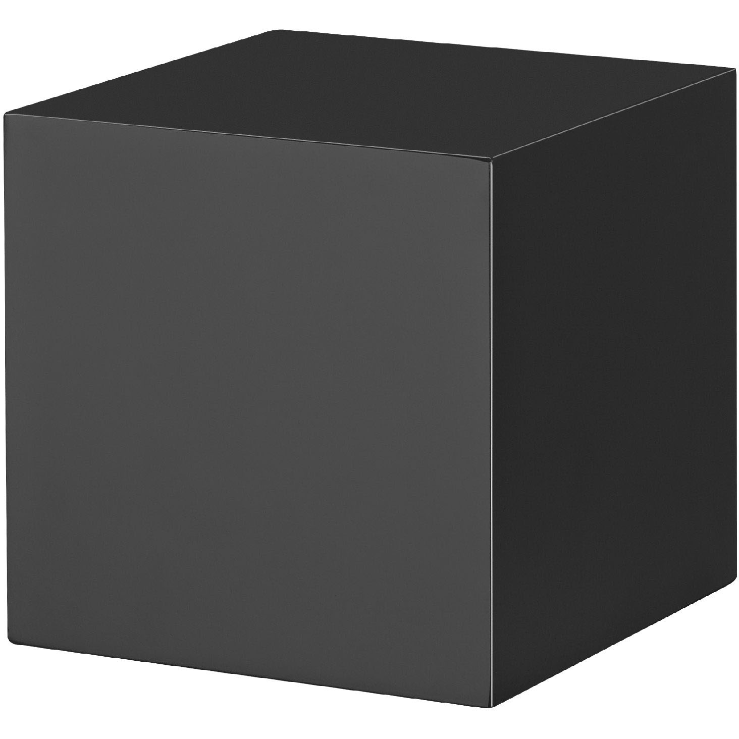 Black Block Floating Shelf 150x150x150mm Mastershelf