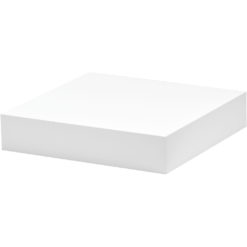 White floating shelf kit
