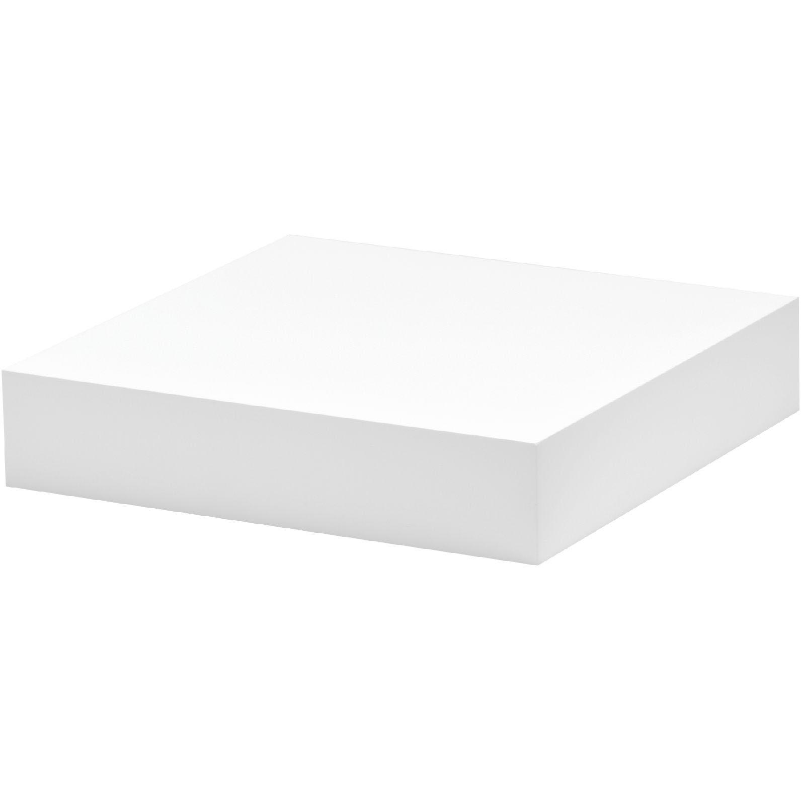 White Floating Shelf Kit 250x250x50mm