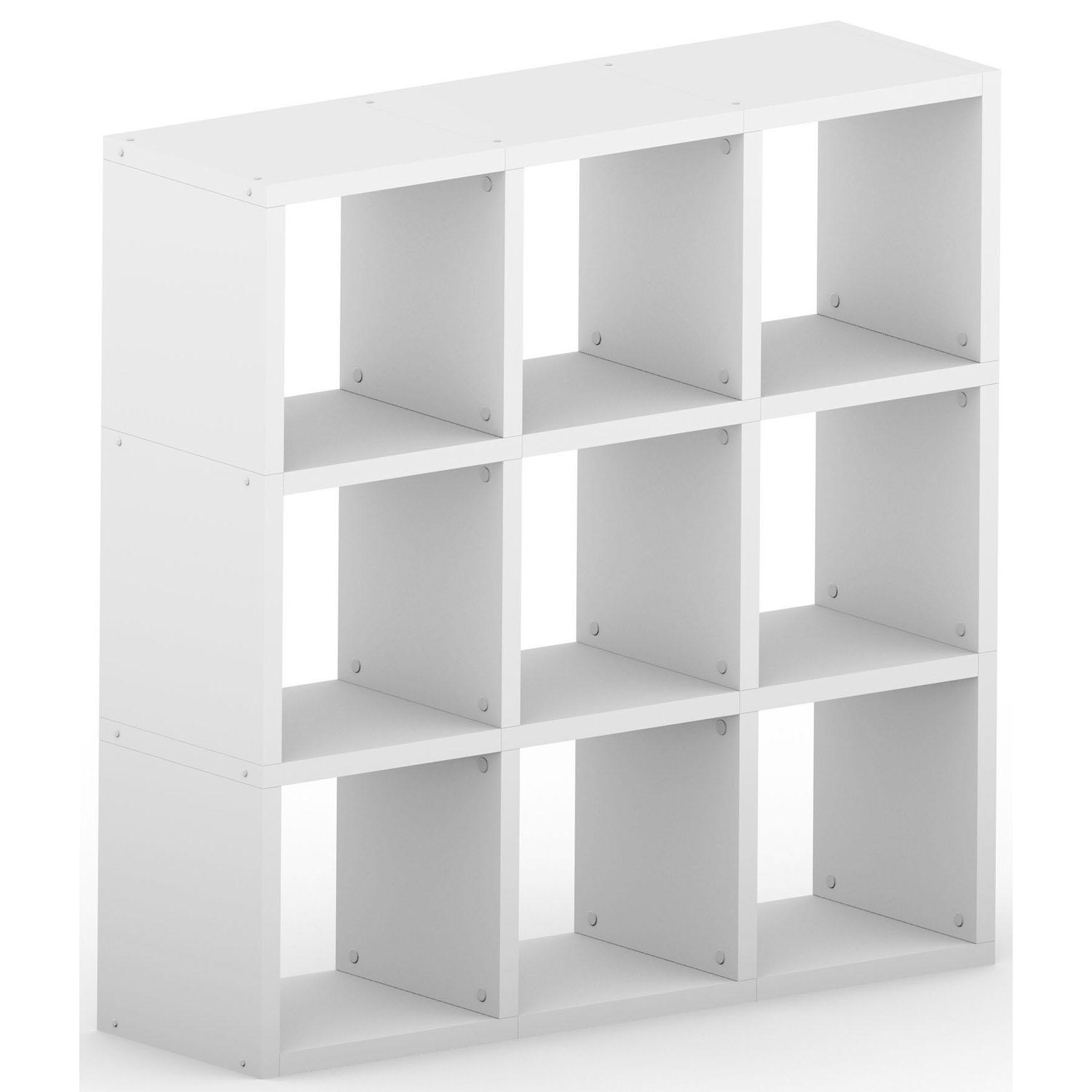 Modular 9 Cube White , 1096L x 1096H x 328D