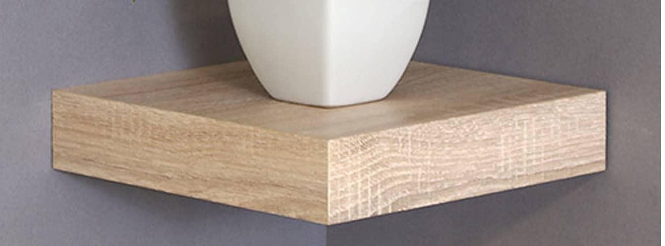 square corner shelf