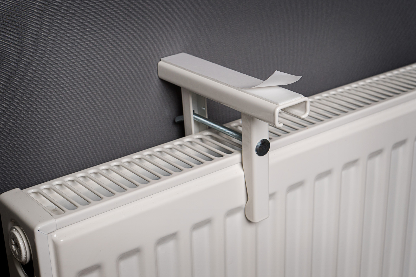 Universal Radiator Shelf Bracket Each Mastershelf