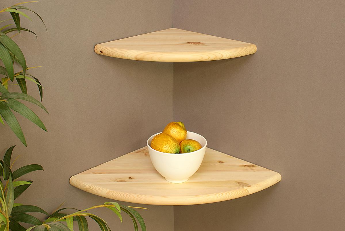 Corner Floating Shelves Wood Double Deal Mastershelf