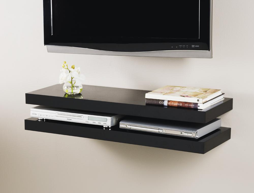 media floating shelf kit 900x300x50mm double deal 2