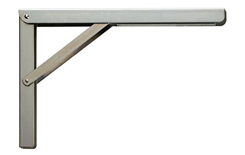 folding shelf bracket fold bracket each mastershelf 29117